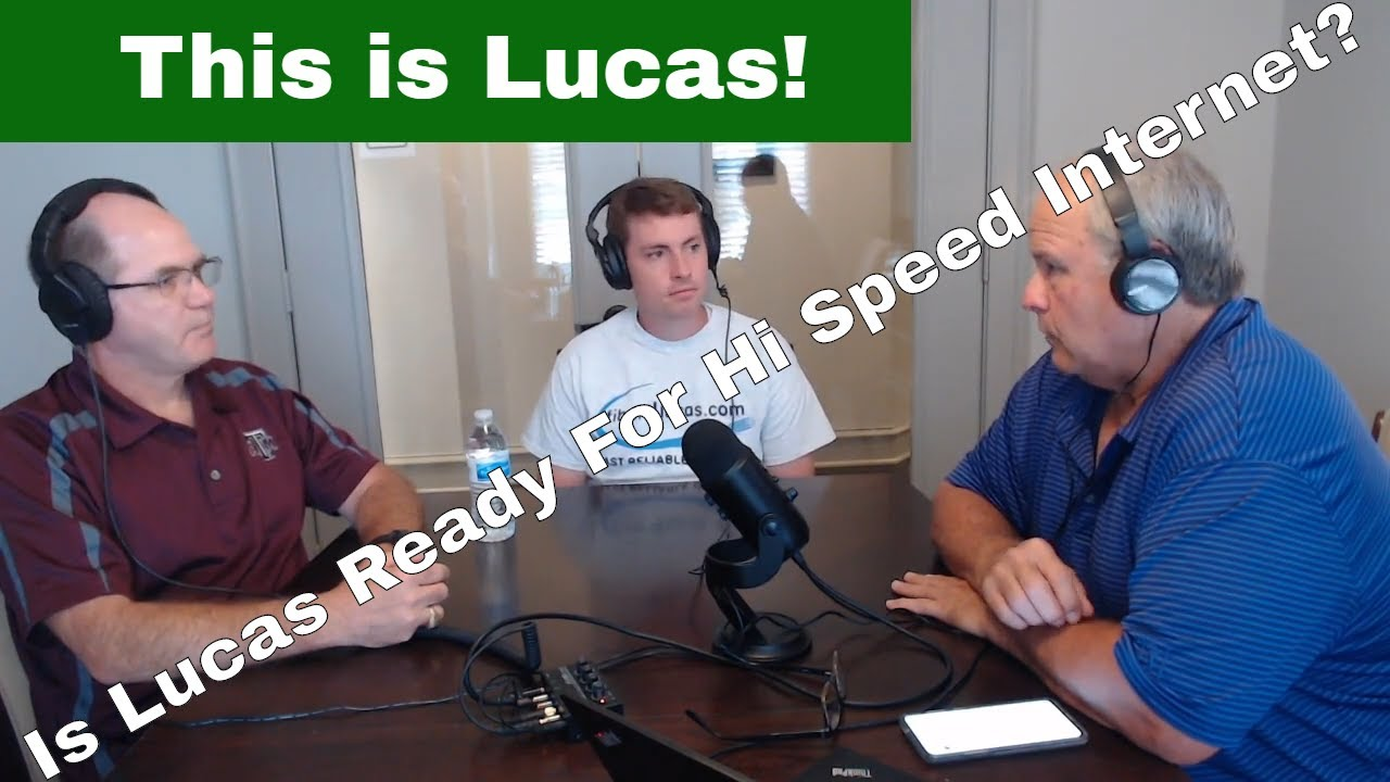 Is Lucas Ready for City Provided High Speed Fiber?