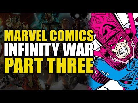 Infinity War Part 3: Death of Galactus