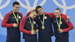 Reaction: Michael Phelps wins 19th Gold Medal in 4x100 Relay!!! 800 Subscribers Special!