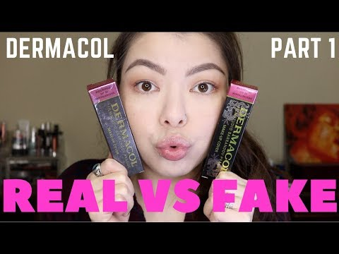 REAL vs FAKE DERMACOL Pt1 | How to Tell the Difference