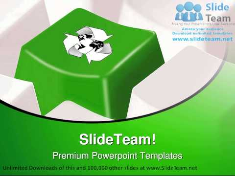 Global Recycle Globe PowerPoint Templates Themes And Backgrounds ppt themes