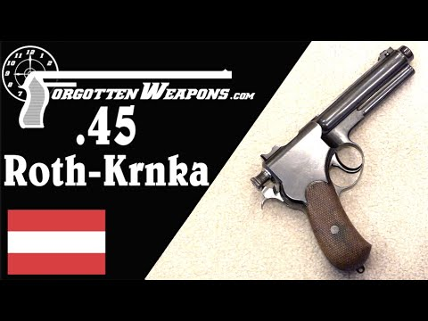 Prototype .45 Caliber Roth-Krnka for US and UK Trials