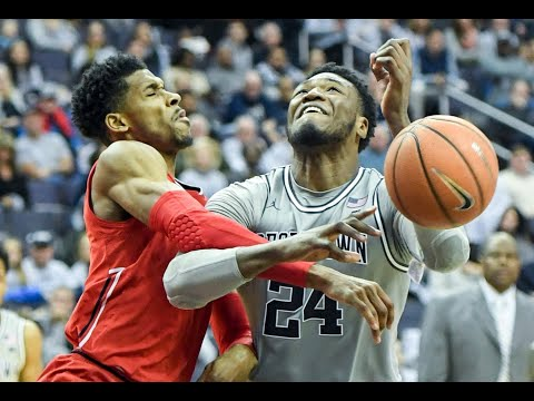 Marcus Derrickson earns his stripes with Patrick Ewing in Georgetown's marathon win
