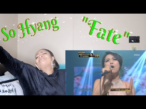 "SoHyang-""Fate""Reaction *Seriously DONE🚨*"