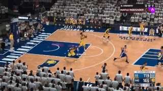 NBA2K18: Ep.107 NBA Finals (Golden State Warriors @ Indiana Pacers) Game 6