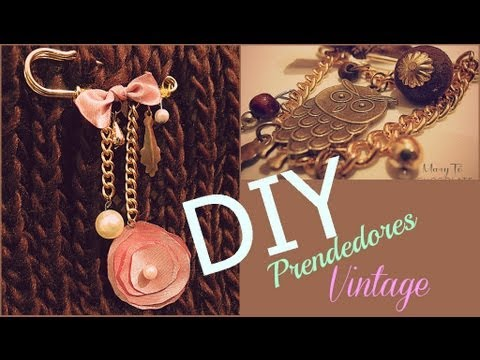 06a88102dae7 DIY  Prendedores para tu Ropa (hazlo tu misma) facil de hacer - YouTube