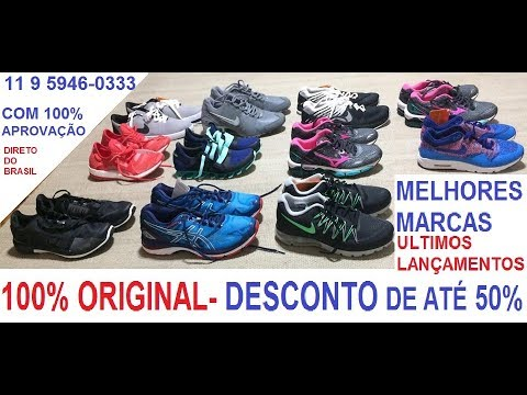 97050e511b TENIS 100% ORIGINAL COM PREÇO DE FÁBRICA DIRETO DO BRASIL!! - YouTube