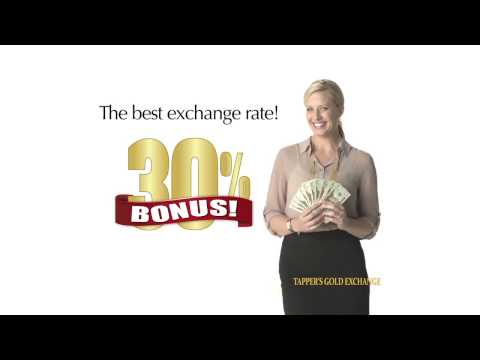 Tapper's Gold Exchange: 30% Bonus with Price Lock Guarantee - West Bloomfield Estate