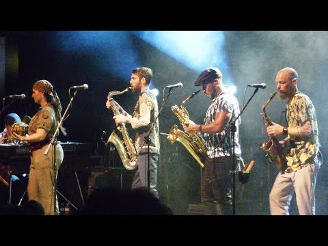 The Souljazz Orchestra - Mista President--Live 2019 in Athens, Greece  at Gagarin205Stage-11-10-2019 mp3