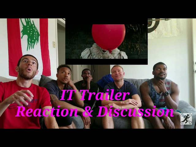 It - Trailer #1 - Reaction and Discussion #ItMovie