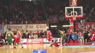 Basketball Olympiakos-Panathinaikos moments