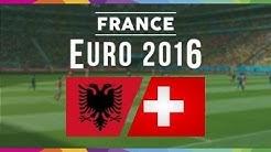 UEFA EURO 2016: Albanien gegen Schweiz - Die besten Momente [HD]