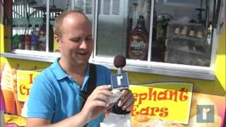Man eats his way through the county fair