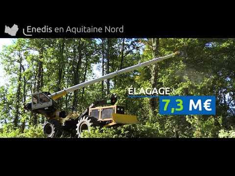 Enedis en régions : Aquitaine Nord