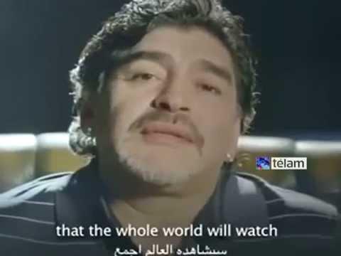 Comenzó el nuevo reality de Maradona en Dubai