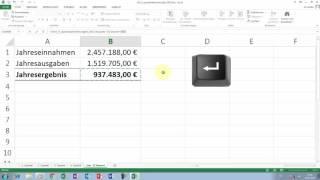 Excel Tipps und Tricks #33 Bezug zu Mappen bzw. Tabellenblätter / Zusammenfassung
