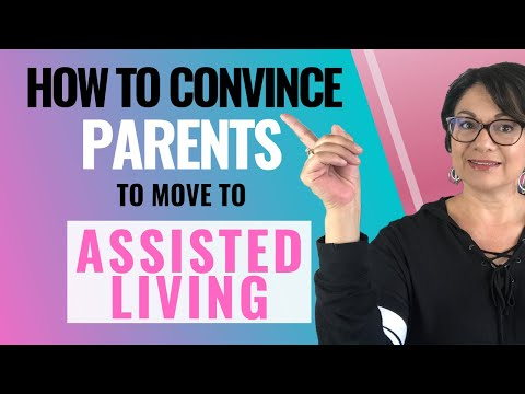ASSISTED LIVING CONVERSATIONS Talking to your parents about Assisted Living