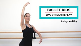Ballet Kids Choreografie  | ∙ndigo | Week 2 Live Stream Replay