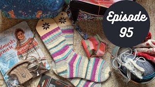 Episode 95- The Woolen Homestead- A Knitting Podcast
