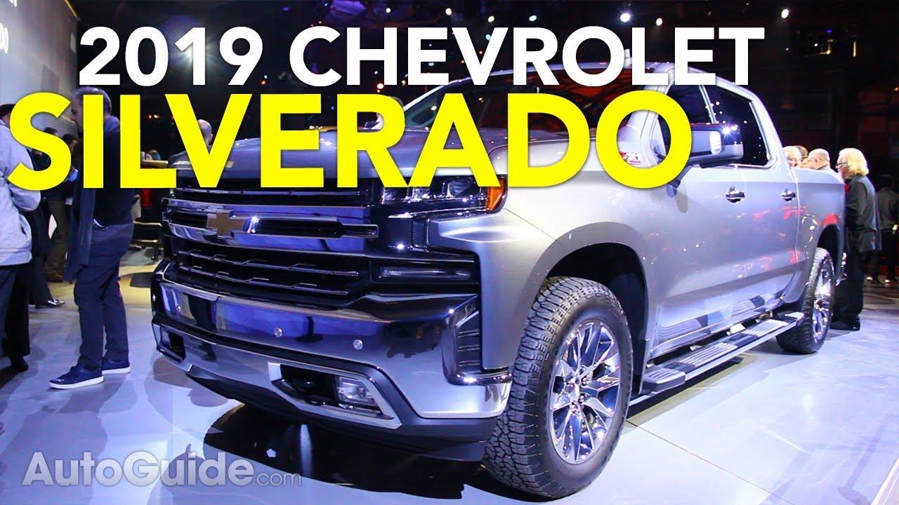 2019 Chevrolet Silverado First Look - 2018 Detroit Auto Show - Dauer: 2 Minuten, 19 Sekunden