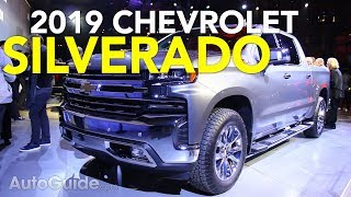 2019 Chevrolet Silverado First Look - 2018 Detroit Auto Show