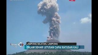 Meletus Ratusan Kali, Gunung Anak Krakatau Berstatus Waspada - iNews Pagi 13/07
