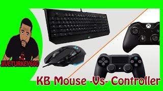 Keyboard and Mouse Vs Controller - Cod Mw3 Multiplayer / Gameplay
