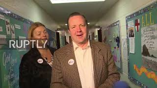 USA: Republican Senate candidate Corey Stewart votes in Virginia