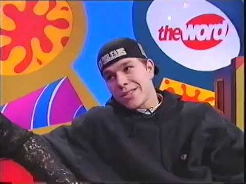 Marky Mark & Dani Behr Interview The Word 1992 Mark Wahlberg