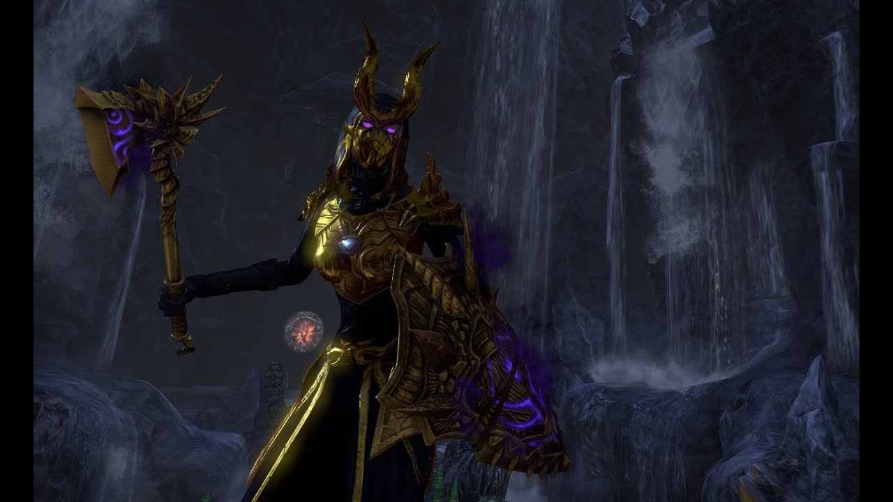 Magicka Templar Damage PvP Build for Elder Scrolls Online
