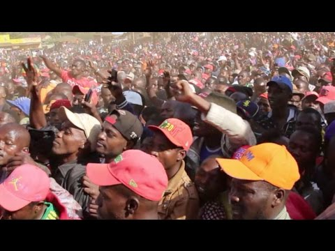 Trouble for Jubilee? : NASA  accorded hero's welcome in Meru
