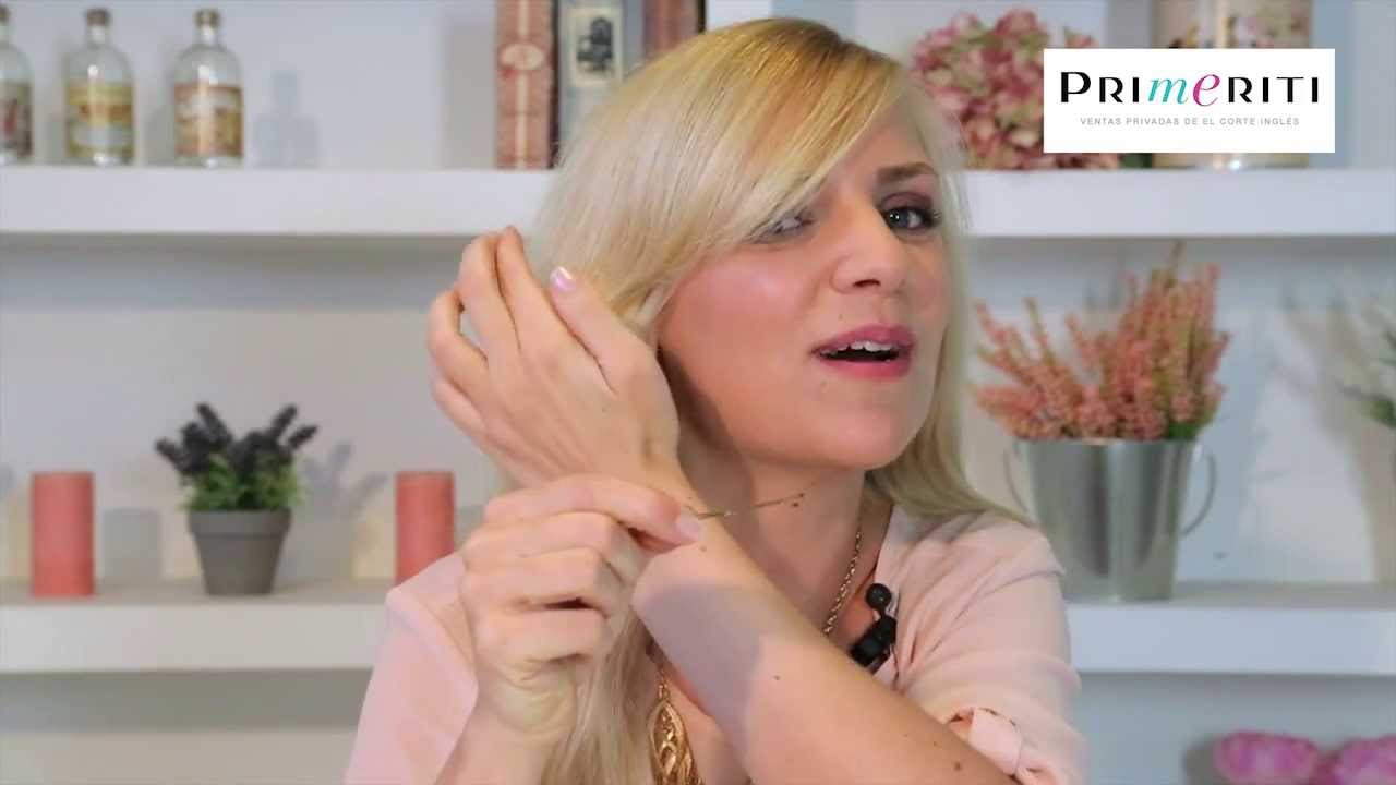 Truco para fijar horquillas en pelo fino o liso - YouTube a10df680b71c