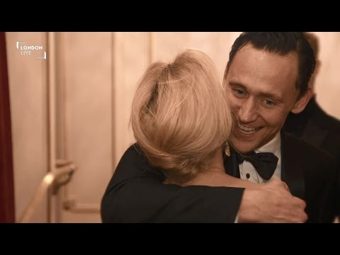 Thumbnail: London Evening Standard Theatre Awards 2014 - Tom Hiddleston Gillian Anderson Benedict Cumberbatch