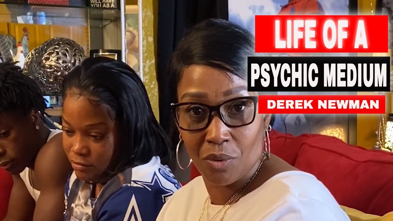 Life of a Psychic Medium: My name is Derek Newman