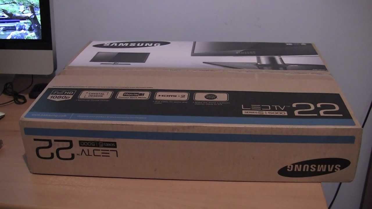 Samsung UE22D5010NW SMART TV Treiber