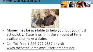 Mesothelioma Trust Fund Florida 1-866-777-2557 Asbestos Cancer Lawyers FL