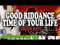 Green Day - Good Riddance Time Of Your Life - BASS Tutorial [With Tabs] - Play Along