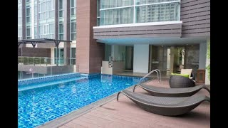 Thailand Travel - A-One Star Hotel Rooftop Pool!