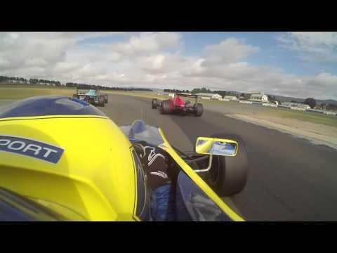 Nick Filipetto F3 Wakefield Park- Race win