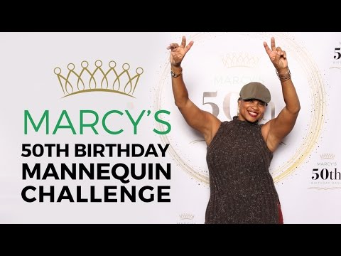 Marcy's 50th Birthday Bash Mannequin Challenge