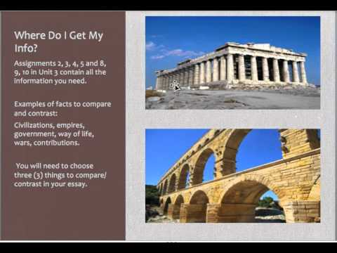 history 600a unit 3 live class compare and contrast ancient greece