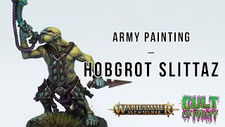 How to Paint Hobgrot Slittaz from the Kruleboyz in Age of Sigmar Dominion!