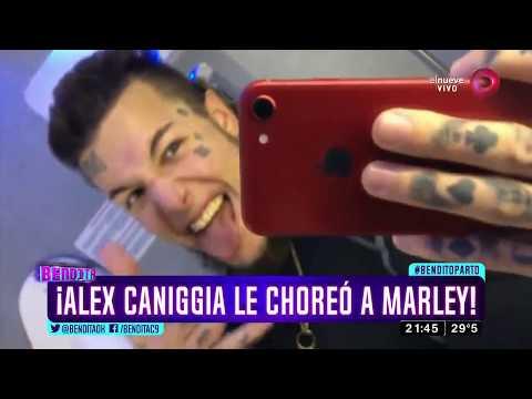 ¡Alex Caniggia Le Choreó A Marley!