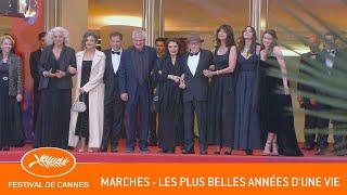 LES PLUS BELLES ANNEES D'UNE VIE - Les marches - Cannes 2019 - VF