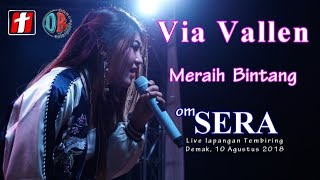 Via Vallen - Meraih Bintang ( Dangdut Version ) - OM.SERA Live Demak 2018