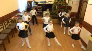Видеофрагмент урока ритмики в ДМШ №91