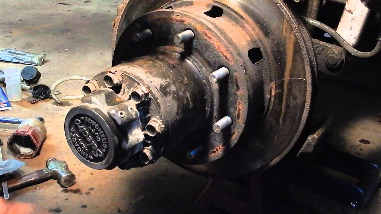 Dodge Cummins Dana 60 Front Brakes And Wheel Bearings