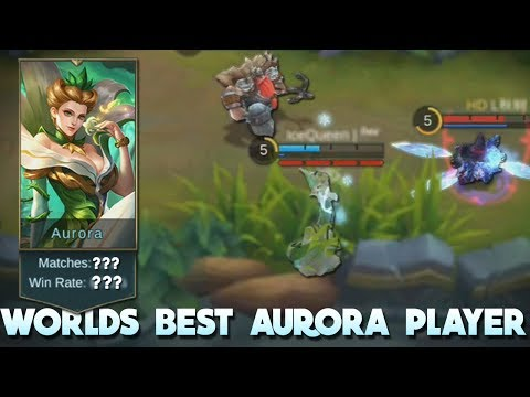 Worlds Best Aurora Player! Mind Blowing Stats! Mobile Legends