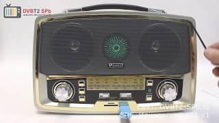 Kemai MD-1701U - обзор радиоприёмника с SD и USB