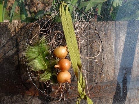 Bastelanleitung Ei aus Draht - YouTube